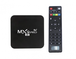 TV BOX MXQ 5G/4G 4K G+64G Android 10.1 Wifi:2